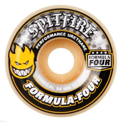 Колеса Spitfire Formula Four Conical Yellow 52mm 99D